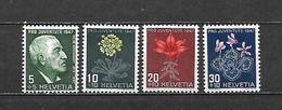 1947 - N. 446/48** (CATALOGO UNIFICATO) - Zwitserland