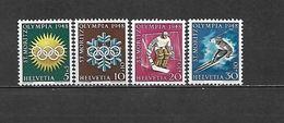 1948 - N. 449/52** (CATALOGO UNIFICATO) - Switzerland