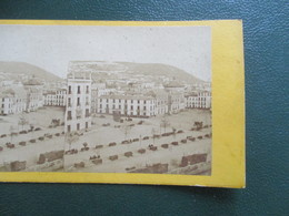 PHOTO STEREOSCOPIQUE GRENADE  ESPAGNE - Plaques De Verre