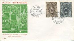 VATICANO - FDC 1960  TRE STELLE - SINODO - FDC