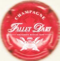 Fallet - Dart N°19c, Rouge & Blanc - Champagne