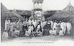ETHIOPIE - ABYSSINIE - GROUPE GENERAL DE LA LEPROSERIE DE HARAR - Ethiopie