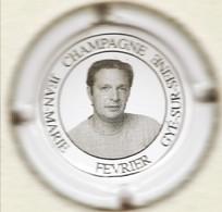 Février Jean-Marie N°14, Portrait D'homme - Champagne