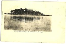 SAINTE MARIE Ile Aux Forbans Lazaret, Dos Simple - Frankreich
