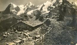 Autriche - Sennssütte - Eiger - Mond Und Jungfrau - Etable En Altitude - Austria