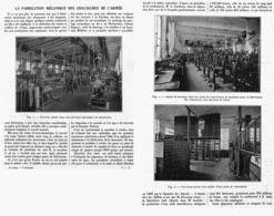 LA FABRICATION MECANIQUE DES CHAUSSURES De L'ARMéE  1916 - Army & War