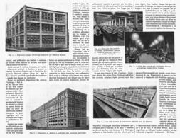 L'ECLAIRAGE Des USINES  1916 - Technical