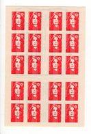 Carnet Marianne De Briat 20 Timbres N° 2874-C9 - Carnets