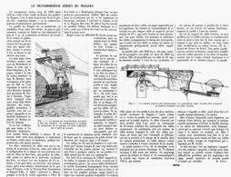 LE TRANSBORDEUR AERIEN Du NIAGARA  1916 - Autres
