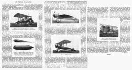 LE FUSELAGE En AVIATION  1916 - Transports
