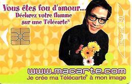 TC-PUBLIC°-F1320A-50U-GEM1-09/2004-FOU D AMOUR-UTILISE-BE - 2004