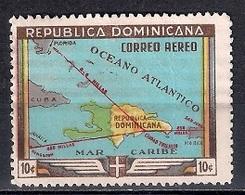 República Dominicana 1946 - Airmail - The 450th Anniversary Of Santo Domingo - Dominicaine (République)