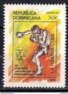 República Dominicana 1991 - The 11th Pan-American Games, Havana - Dominicaine (République)