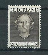 1949 Netherlands Queen Juliana 2,50 Gulden Mint Hinged/Ongebruikt Met Plakker/Neuf Avec Charniere - Nuovi