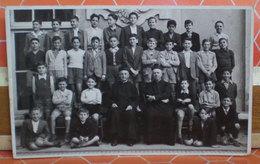 Foto Alunni  Classe  Maschile Italia Cartolina Fotografica Formato Piccolo - Gruppi Di Bambini & Famiglie