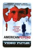 Carte VIDEO FUTUR - N°143 - Film De Cinéma - American Psycho - Frankrijk