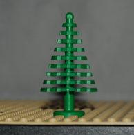 Lego Sapin Vert Large 4 X 4 X 6 2/3 Ref 3471 - Lego Technic
