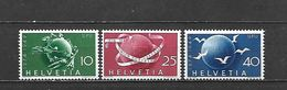 1949 - N. 474/76** (CATALOGO UNIFICATO) - Switzerland