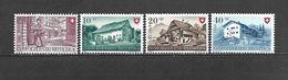 1949 - N. 477/80** (CATALOGO UNIFICATO) - Svizzera