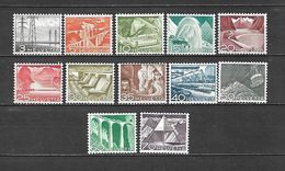 1949 - N. 481/92** (CATALOGO UNIFICATO) - Switzerland