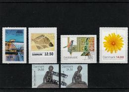 Danemark - Small Lot Of Used Stamps - Vrac (max 999 Timbres)