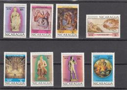 Nicaragua Nº 983 Al 990 - Nicaragua