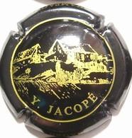 """Jacopé Y. N°6, """"Broyes"""" Sur Contour, Noir & Or - Champagne"""