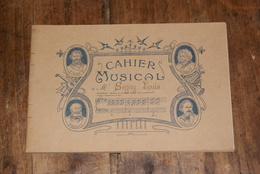 Cahier Musical Vierge - Partitions Musicales Anciennes