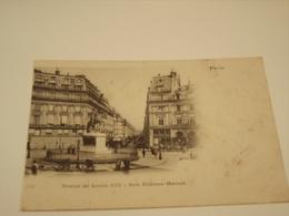 PARIS STATUE DE LOUIS XIV RUE ETIENNE MARCEL - Statues