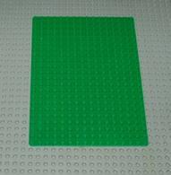 Lego Baseplate Vert 16x22 Ref 210 - Lego Technic