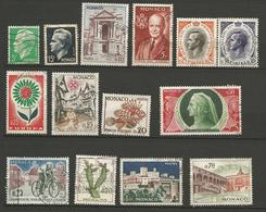 LOT MONACO  OBL - Collections, Lots & Séries