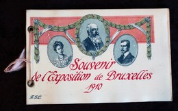 Souvenir De L'exposition De Bruxelles 1910 - Boeken, Tijdschriften, Stripverhalen