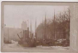DORDRECHT  - Bagijnhof 2  -  Old Photo  ( Port , Navires ..bateaux ) N°1 - Gerard Stoof - Photos