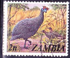 Sambia Zambia - Helmperlhuhn (Numida Meleagris) (Mi.Nr.: 142) 1975 - Gest Used Obl - Zambia (1965-...)