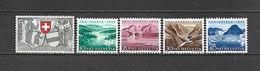 1952 - N. 521/25** (CATALOGO UNIFICATO) - Svizzera