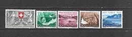 1953 - N. 531/35** (CATALOGO UNIFICATO) - Svizzera
