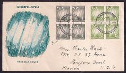 Groenland - 1963 - Lettre - Envoyée Aux États-Unis - Greenland