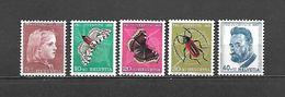 1953 - N. 539/43** (CATALOGO UNIFICATO) - Svizzera