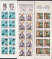 FRANCE 8 Carnets CROIX-ROUGE 1992 à 1999 Neufs Xx - N°YT C2041 à C2048 - Markenheftchen