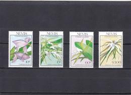 Nevis Nº 548 Al 551 - St.Kitts Y Nevis ( 1983-...)