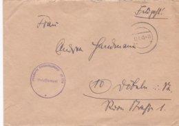 Late German Feldpost WW2: From Danzig, Zoppot: A Stabsartz In 4. Leichtkranken-Kriegslazarett - Militaria