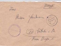 German Feldpost WW2: From Danzig, Zoppot: A Stabsartz In 4. Leichtkranken-Kriegslazarett - Militaria