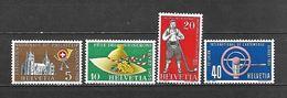 1955 - N. 558/61** (CATALOGO UNIFICATO) - Svizzera