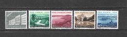 1955 - N. 562/66** (CATALOGO UNIFICATO) - Svizzera