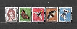 1955 - N. 567/71** (CATALOGO UNIFICATO) - Svizzera