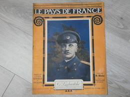 PAYS DE FRANCE N°93.  27 JUILLET 1916. GENERAL LOCHWITSKY COMMANDANT DES TROUPES RUSSES EN FRANCE. - Magazines & Papers