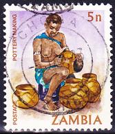 Sambia Zambia - Traditionelles Leben (Mi.Nr.: 251) 1981 - Gest Used Obl - Zambia (1965-...)