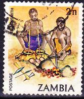 Sambia Zambia - Traditionelles Leben (Mi.Nr.: 250) 1981 - Gest Used Obl - Zambia (1965-...)