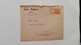 """1952 - Busta Commerciale """"Italo Belluzzi"""" Di Bologna - 6. 1946-.. Republic"""