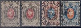 Russia 1875, Michel Nr 25x-28x, Used - 1857-1916 Empire